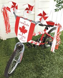 canada day bike